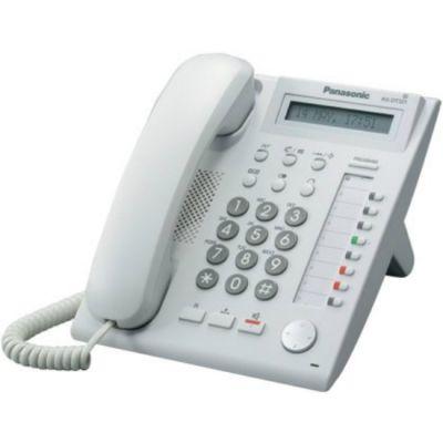 Телефон Panasonic проводной KX-NT321 White
