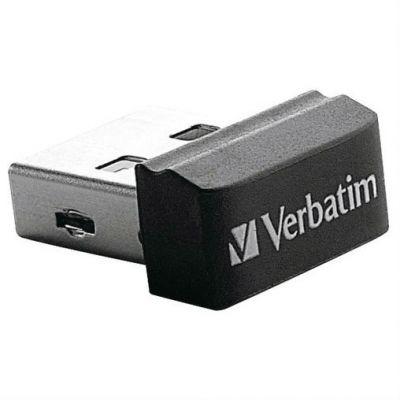 Флешка Verbatim 16GB Nano (черный) 97464