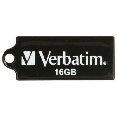 Флешка Verbatim 16GB Micro (черный) 44050