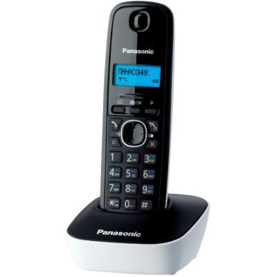Телефон Panasonic Dect KX-TG1611RUW (черно- белый)