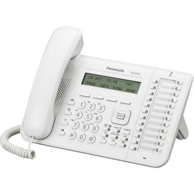 Телефон Panasonic IP KX-NT543RU White проводной