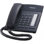 Телефон Panasonic KX-TS2382RUB Black проводной