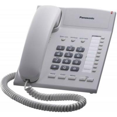 Телефон Panasonic KX-TS2382RUW White проводной