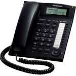 Телефон Panasonic KX-TS2388RUB Black проводной