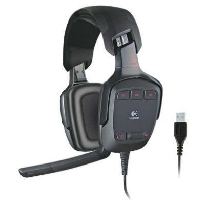 Наушники с микрофоном Logitech G35 Gaming Headset 981-000549