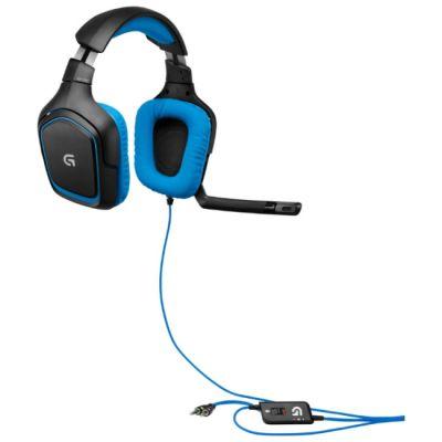 �������� � ���������� Logitech G430 Surround Sound Gaming Headse 981-000537