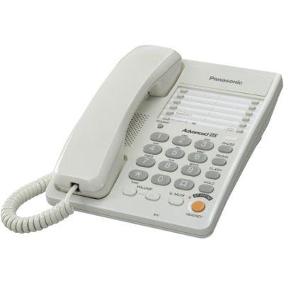 Телефон Panasonic KX-TS2363RUW White проводной