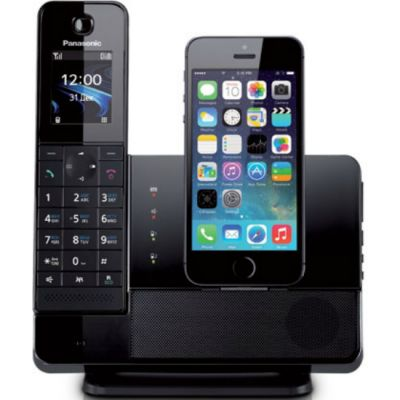 Телефон Panasonic Dect KX-PRL260RUB Black