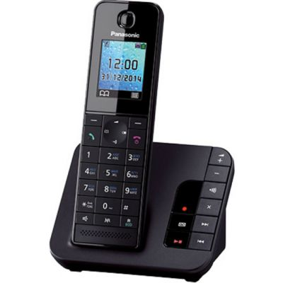Телефон Panasonic Dect KX-TGH220RUB Black