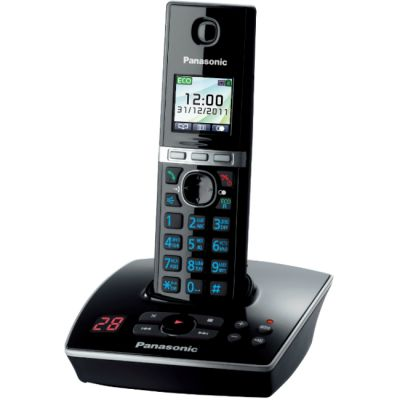 Телефон Panasonic Dect KX-TG8061RUB Black