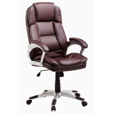 Офисное кресло Staten руководителя COLLEGE BX-3233 коричневое (282751)