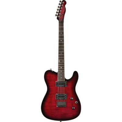 Электрогитара Fender Special Edition Custom Telecaster Rw Hh Black Cherry Burst