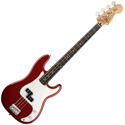 Бас-гитара Fender Standard Precision Bass MN Candy Apple Red Tint