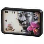 Настенные часы Hama аналоговые Buddha Flower
