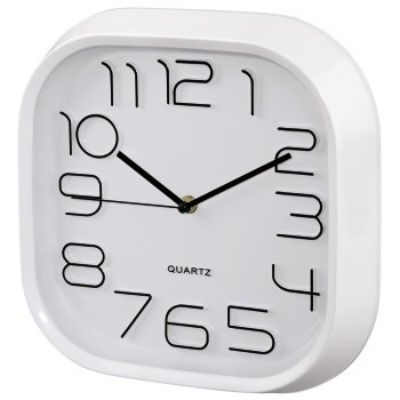 Настенные часы Hama аналоговые PG-280 белый