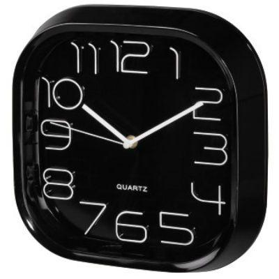 Настенные часы Hama аналоговые PG-280 черный
