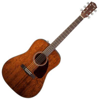 Акустическая гитара Fender CD-140S Dreadnought Mahogany