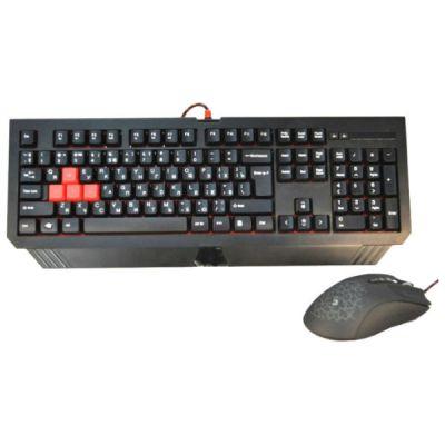 Комплект A4Tech клавиатура + мышь Bloody Q1500/B1500 (Q110+Q9)