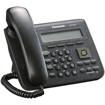 Телефон Panasonic VoIP KX-UT123RU-B Black