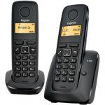 Телефон Gigaset Dect A120 DUO Black