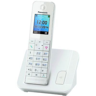 Телефон Panasonic Dect KX-TGH210RUW White
