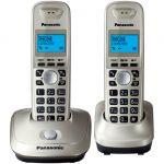 Телефон Panasonic Dect KX-TG2512RUN платиновый