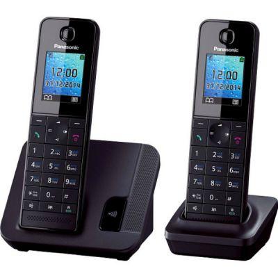 Телефон Panasonic Dect KX-TGH212RUB Black