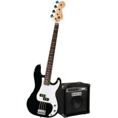 Fender Набор бас-гитариста Squier Affinity Precision Bass&RUMBLE 15 AMP - Black