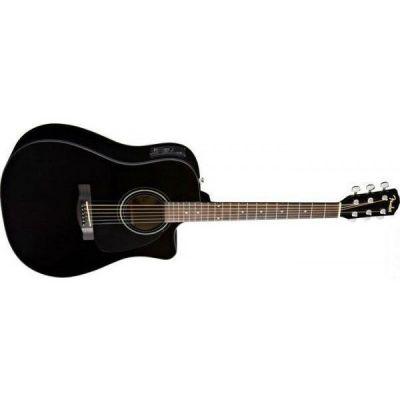 Электроакустическая гитара Fender Cd-60ce Dreadnought Black W/fishman® Miniq Preamp
