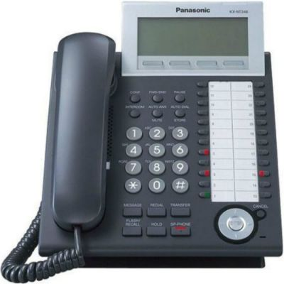 Телефон Panasonic IP KX-NT346RU Black