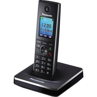 Телефон Panasonic Dect KX-TG8551RUB Black