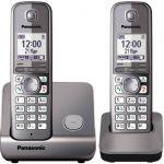 Телефон Panasonic Dect KX-TG6712RUM серый