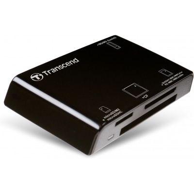 КартРидер Transcend All in 1 Multi Black USB 2.0 TS-RDP8K