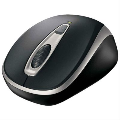 ���� ������������ Microsoft Wireless Mobile Mouse 3000V2 Black/Silver USB 2EF-00034