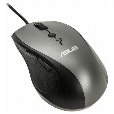 Мышь проводная ASUS UT415 Silver USB 90XB01K0-BMU010