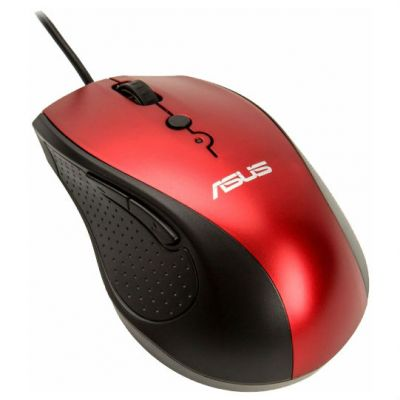 Мышь проводная ASUS UT415 Red USB 90XB01K0-BMU030