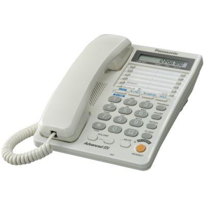 Телефон Panasonic KX-TS2368RUW White