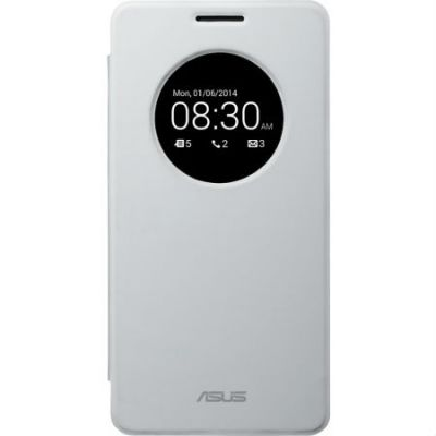 Чехол ASUS для Zenphone A600 PF-01 VIEW FLIP COVER/A600/WH/6/10 (белый) 90XB00RA-BSL0P0