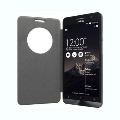 Чехол ASUS для Zenphone A500 PF-01 черный VIEW FLIP COVER/A500/BK/5/10 90XB00RA-BSL0K0