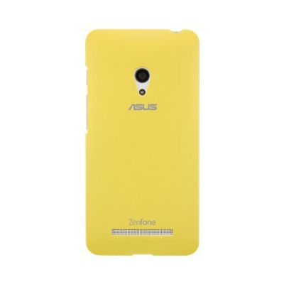 Чехол ASUS для Zenphone A500 PF-01 желтый COLOR CASE/A500CG_A500Kl/YL 90XB00RA-BSL2J0