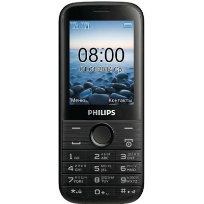 Телефон Philips E160 Black 867000121548