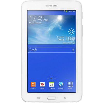 Планшет Samsung Galaxy Tab 3 Lite SM-T113 8Gb White SM-T113NDWASER