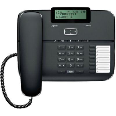 Телефон Gigaset DA710 Black проводной