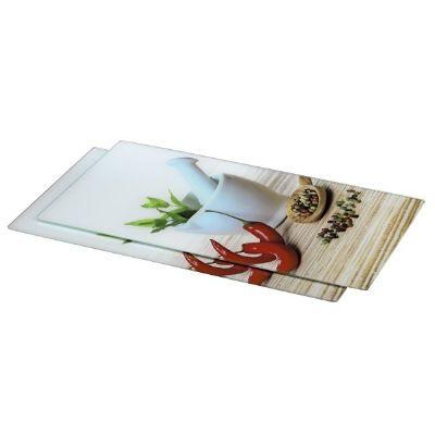 Xavax Spice доска для резки стеклянная (в комплекте 2шт)