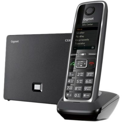 Телефон Gigaset Dect C530A IP Black