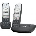 Телефон Gigaset Dect A415 AM DUO Black