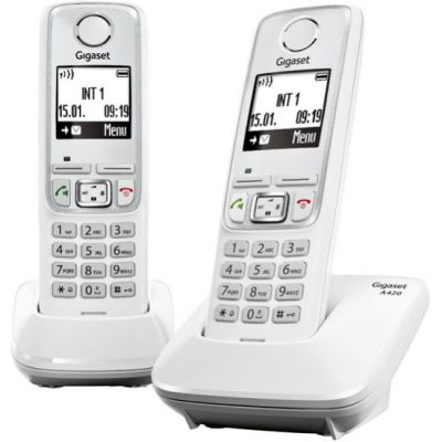 ������� Gigaset Dect A420 DUO White