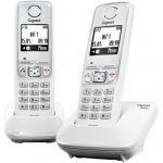 Телефон Gigaset Dect A420 DUO White