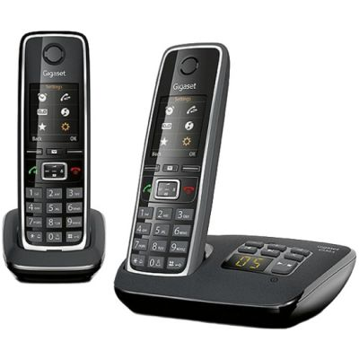 Телефон Gigaset Dect C530 AM DUO Black