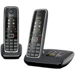 Телефон Gigaset Dect C530 AM DUO Black